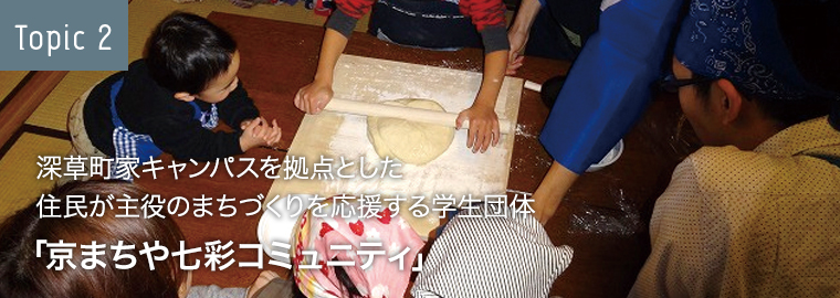 Topic2 「京まちや七彩コミュニティ」